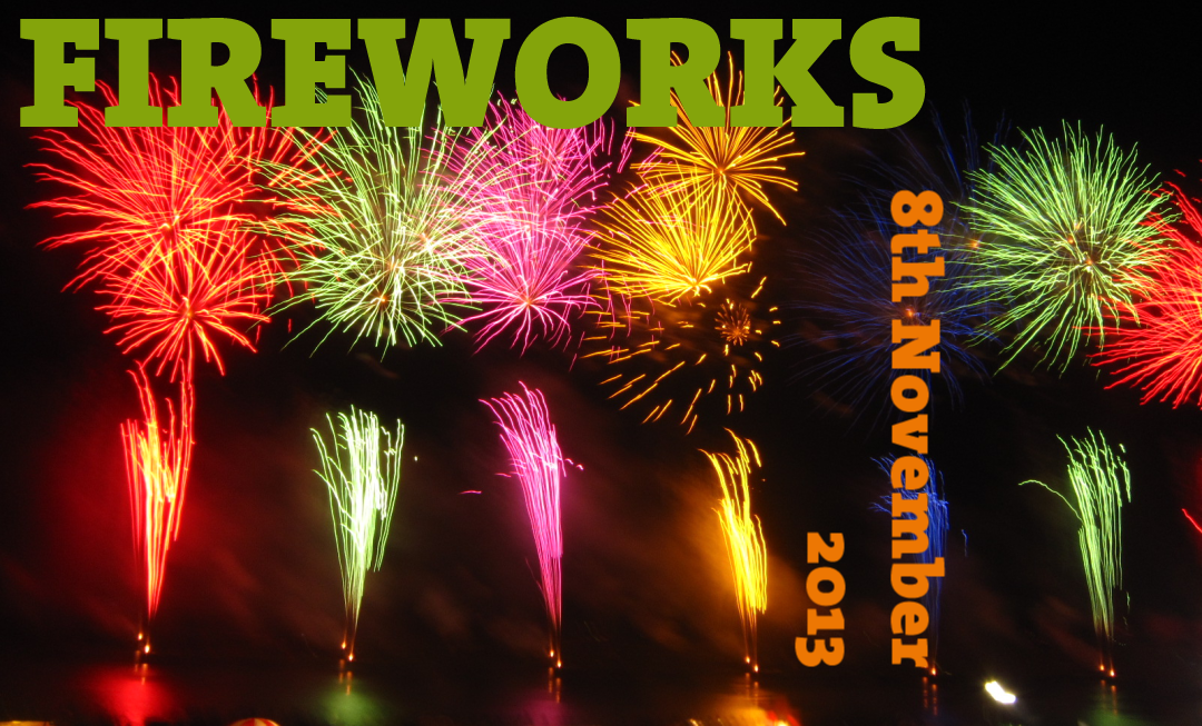 Scout Fireworks 8th November 2013