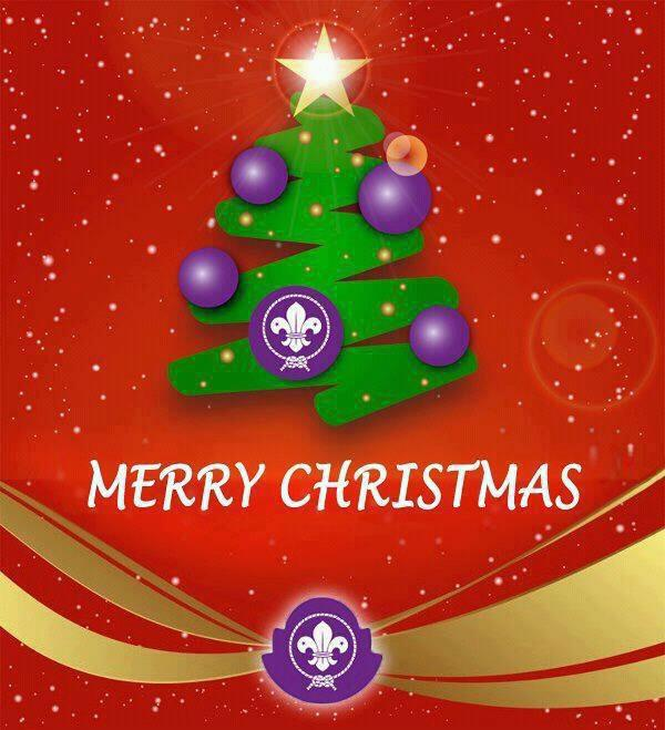Scouts Chrismas Card