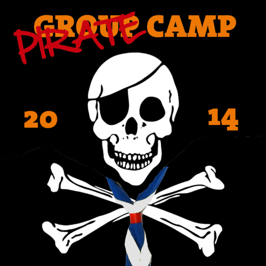 Group Camp 2014 Pirate Banner -800x800