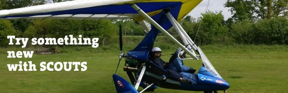 Scouts go Microlighting